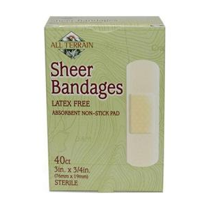 Image of All Terrain Bandages Latex-Free Sheer 40 count