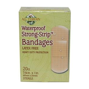 Image of All Terrain Bandages Latex-Free Waterproof Strong-Strip 20 count
