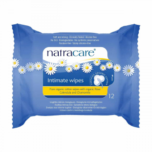 Image of Natracare Organic Feminine Intimate Wipes 12 count