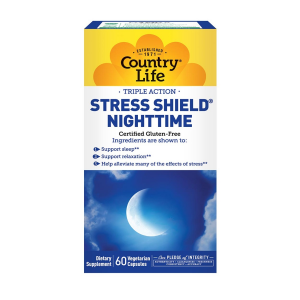 Image of Country Life Stress Shield Nighttime 60 vcaps
