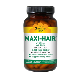 Image of Country Life Maxi-Hair Plus 120 vcaps