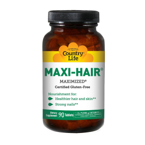 Image of Country Life Maxi-Hair 90 tablets
