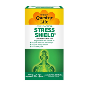 Image of Country Life Stress Shield 60 vcaps