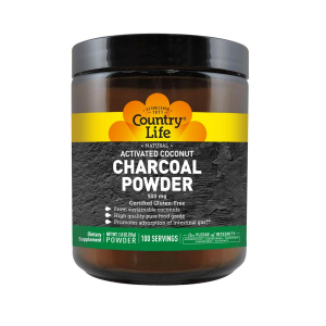 Image of Country Life Activated Coconut Charcoal Powder 5oz