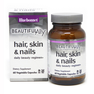 Image of Bluebonnet Beautiful Ally Hair, Skin & Nails 60 vcaps