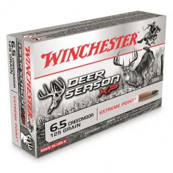 Winchester Deer Season XP 6.5mm Creedmoor Polymer-Tipped Extreme Point 125 Grain 20 Rounds