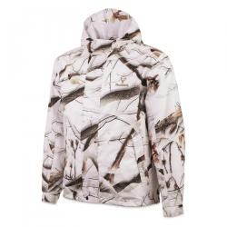 Huntworth Men's Snow Camo Hooded Jacket