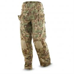 Mil-Tec Men's Military Surplus Arid Camo Warrior Pants Woodland