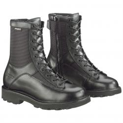 Men's Bates 8 inch DuraShocks Side-Zip Lace-To-Toe Boots Black