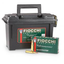 Fiocchi Shooting Dynamics .308 Winchester FMJBT 150 Grain 180 Rounds