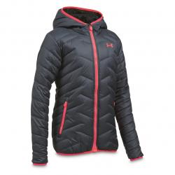 Under Armour Girls' ColdGear Reactor Insulated Hooded Jacket