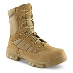 Bates Men's 8 inch Tactical Sport Side Zip Boots Black