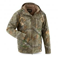 Guide Gear Men's Insulated Silent Adrenaline Hunting Jacket