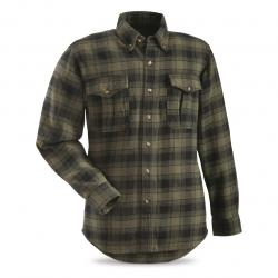 Guide Gear Men's Plaid Chamois Shirt