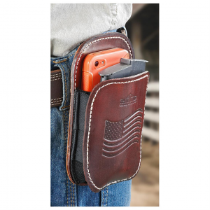 BlueStone Safety 3-in-1 Leather Belt Clip Holster