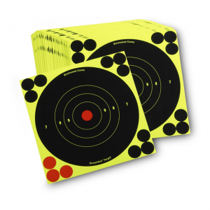 Birchwood Casey Reactive 6 inch Paper Shooting Targets 100 Pack
