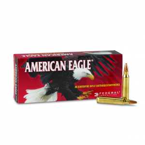 Federal American Eagle .223 Rem. JHP 50 Grain 20 Rounds