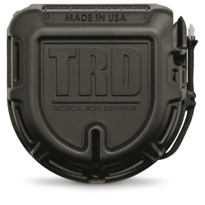 Tactical Rope Dispenser Preloaded with 50' of 550-lb. Paracord