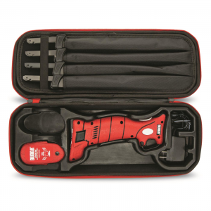 Bubba Lithium Ion Electric Cordless Fillet Knife Set 4 Blades