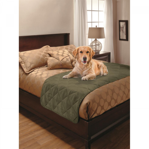 Faux Suede Microfiber Bed Protector for Pets