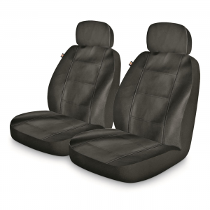 Dickies Deluxe Leatherette Low-back Vehicle Front Seat Covers 2-Pk.