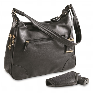 Bulldog Concealed Carry Hobo Purse with Holster