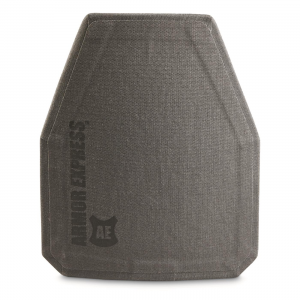 Armor Express H-Shock Special Threat Armor Plate 10x12 inch Shooters Cut