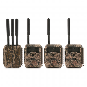 Covert LORA Base Unit and 3-pk. LC32 Trail Cameras 20MP