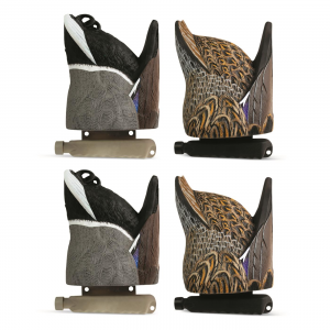 Cupped Waterfowl Feeder Butt Duck Decoys 4 Pack