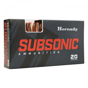 Hornady Subsonic .45-70 Government Sub-X 410 Grain 20 Rounds