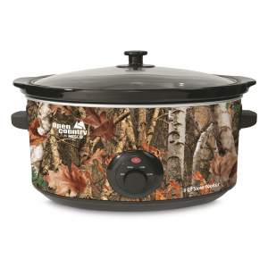 Open Country 8 Quart Electric Slow Cooker Camoflauge
