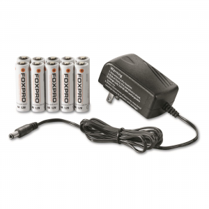 FOXPRO AA Rechargeable NiMH Battery Kit with Charger