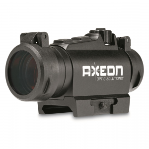 Axeon MDSR1 Micro Dot Sight with Riser 2 MOA Red Dot