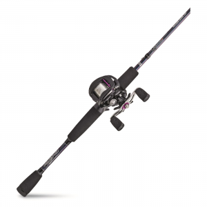 Abu Garcia Gen Ike Baitcast Combo 6'6 inch Length Medium Power Moderate Fast Action Right Handed