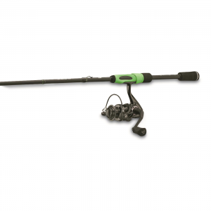 One3 Code Black Spinning Combo 6'6 inch Length Medium Power Fast Action