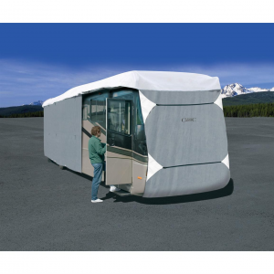 PolyPro III Class A Extra Tall RV Cover Gray