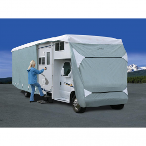 Deluxe PolyPro III Class C RV Cover Gray