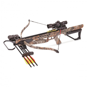 CenterPoint Tyro Recurve Crossbow 4x32 Scope 175-lb. Draw Weight
