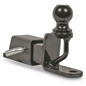 ATV TEK Trio HD Receiver Hitch with 2 inch Ball Mount