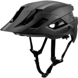 Fox Racing Flux MIPS Helmet: Black on Black XS/SM