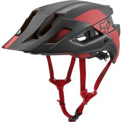 Fox Racing Flux MIPS Conduit Helmet: Cardinal
