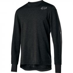 Fox Racing Ranger Thermo Long Sleeve Jersey, Black, MD