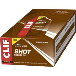Clif Shot Gel: Chocolate 24-Pack