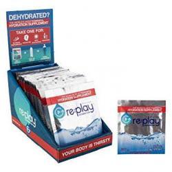 FOOD HYDRATION HEALTH MIX REPLAY PACKETS BXof25 RASP/LEMONADE