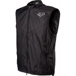 Fox Racing Dawn Patrol Vest  - Black/White Logo - S