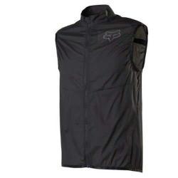 Fox Racing Dawn Patrol Vest  - Black/Black Logo - S