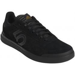Five Ten Sleuth DLX Men's Flat Shoe: Black/Gray Six/Matte Gold 10