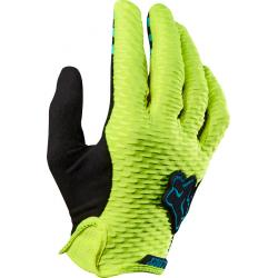 Fox Racing Women's Lynx Glove: Flo Yellow LG