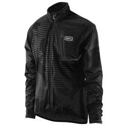 100% Hydromatic Jacket Black Camo SM