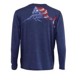 American Sailfish Performance Fishing Shirt
